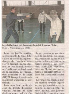 Article_escrime_Vernaison